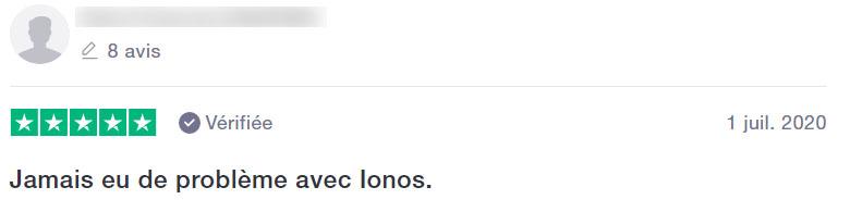 Retour Ionos
