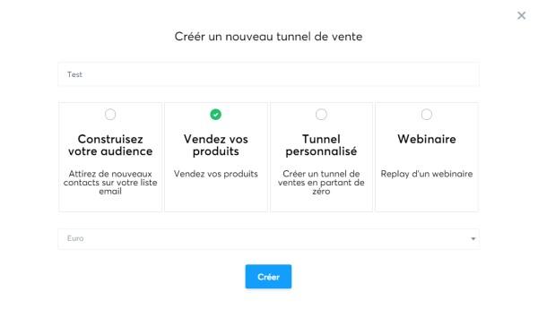 Comment créer un tunnel de vente avec systeme.io